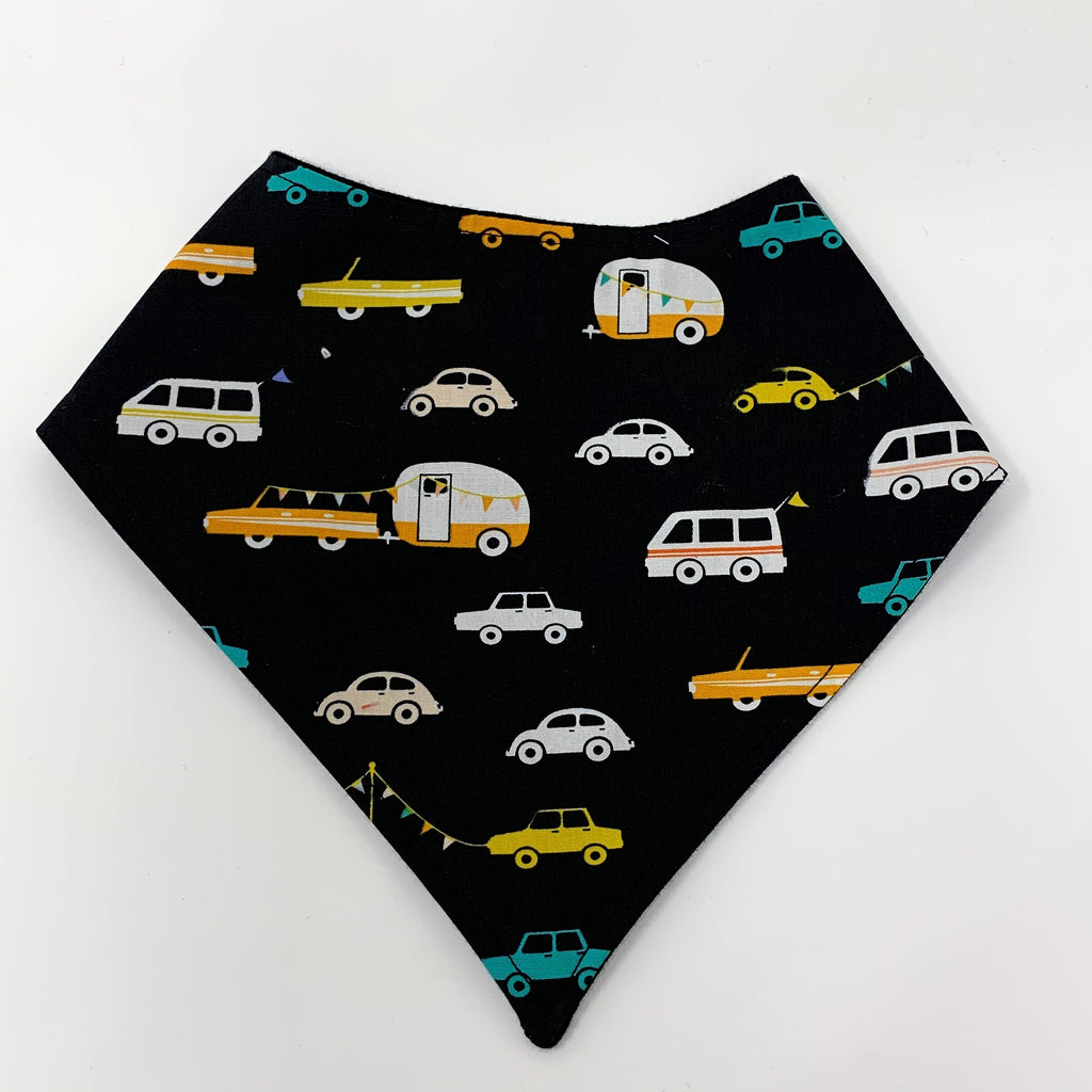 Road Trip Cars 3 Piece Bib & Burp Cloth Set