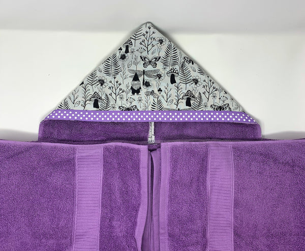 Hanging with My Gnomies Hooded Towel for Bath, Beach, or Pool