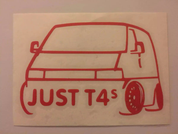Just T4s FB Stickers