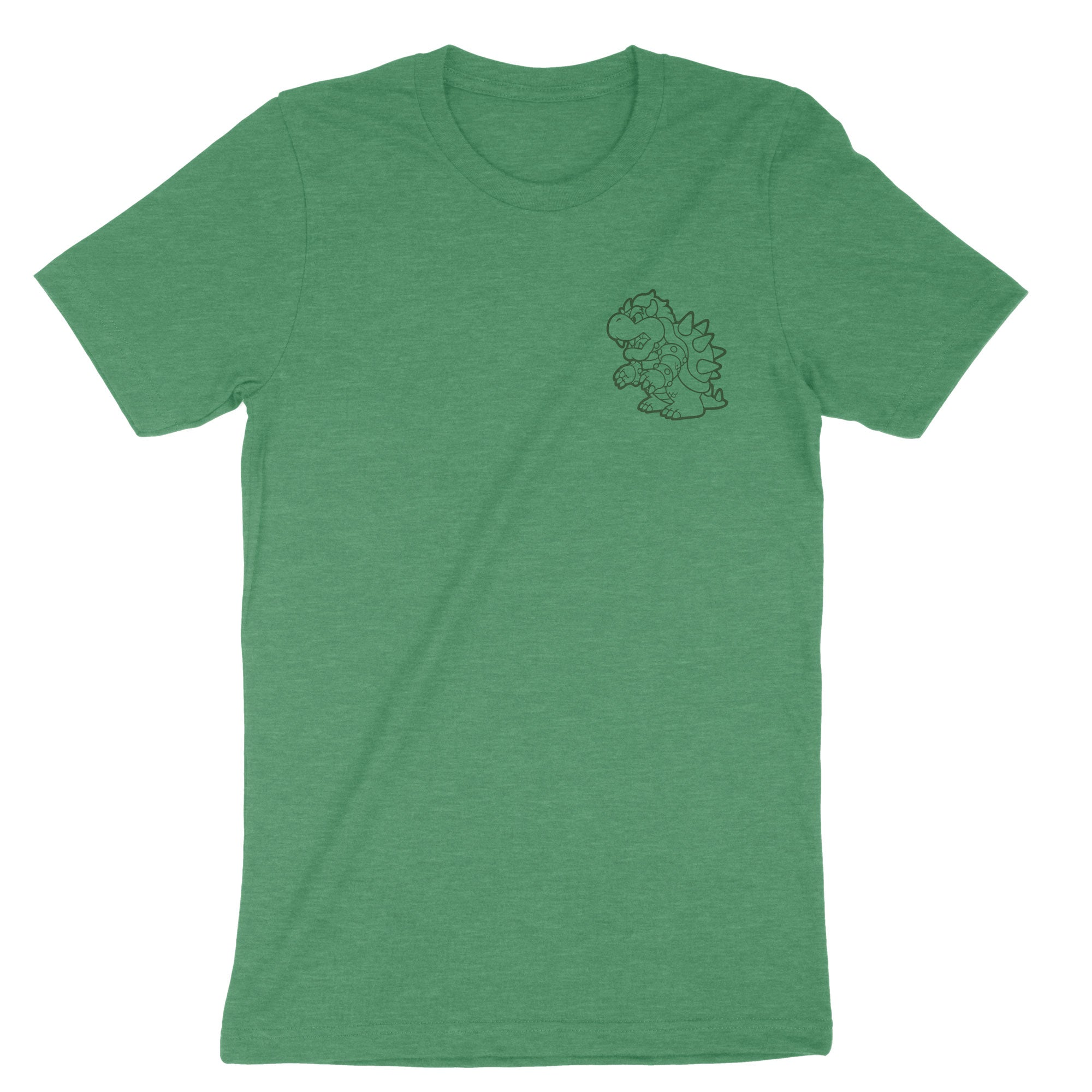 True King of the 7 Kingdoms-T-Shirts-Shirtasaurus-Premium-XS-Heather Kelly Green-Shirtasaurus