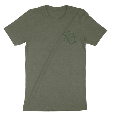 True King of the 7 Kingdoms-T-Shirts-Shirtasaurus-Premium-XS-Heather Military Green-Shirtasaurus