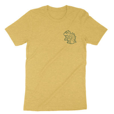 True King of the 7 Kingdoms-T-Shirts-Shirtasaurus-Premium-XS-Heather Yellow Gold-Shirtasaurus