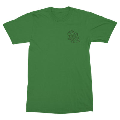 True King of the 7 Kingdoms-T-Shirts-Shirtasaurus-Basic-S-Kelly Green-Shirtasaurus