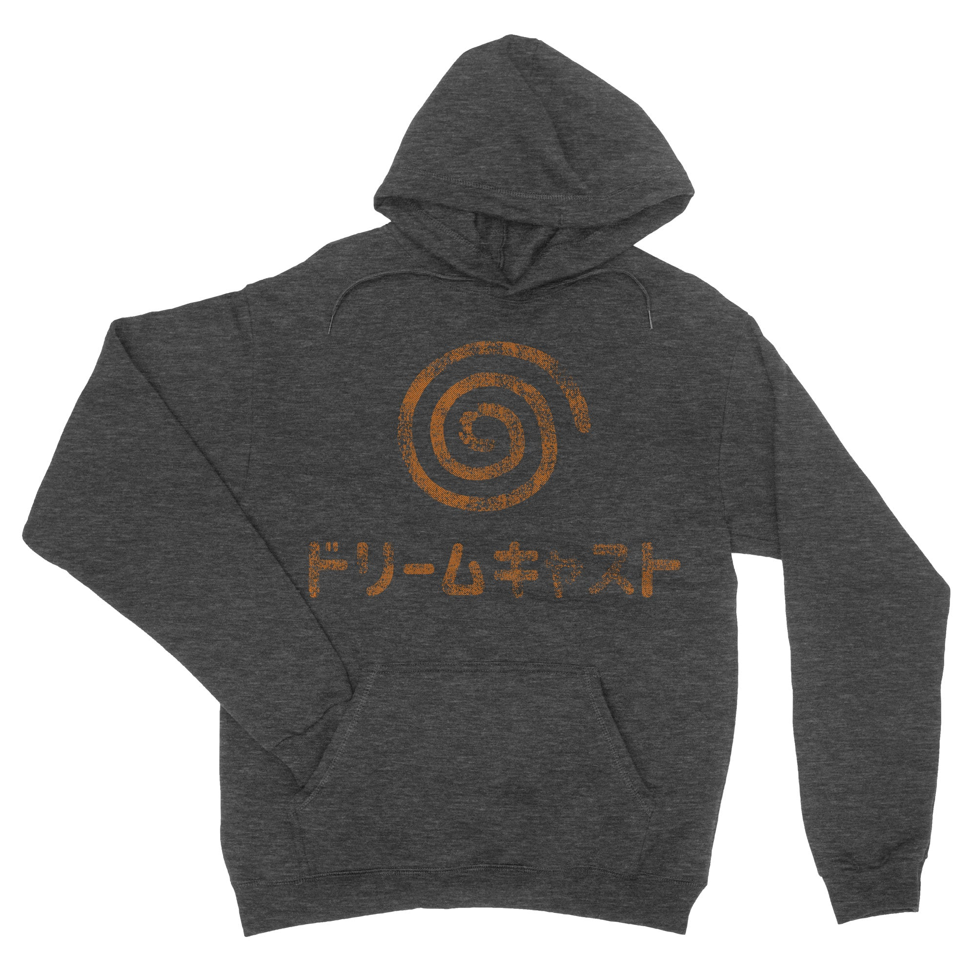 Dreamcast Japanese Hoodie-Hoodies-Shirtasaurus-S-Deep Heather-Shirtasaurus