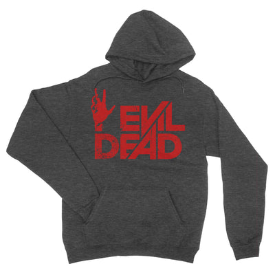 Evil Dead Hoodie-Hoodies-Shirtasaurus-S-Deep Heather-Shirtasaurus