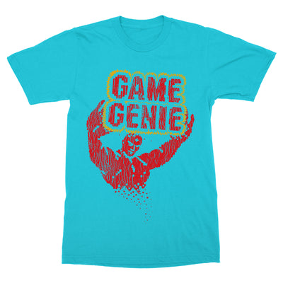 Game Genie Shirt-T-Shirts-Shirtasaurus-Basic-S-Blue Horizon-Shirtasaurus