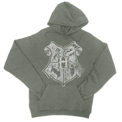 School Of Magic Vintage Pullover Hoodie-Hoodies-Shirtasaurus-S-Heather Forest-Shirtasaurus