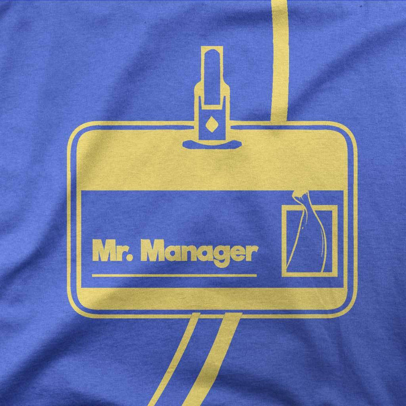 Mr. Manager Tri-Blend Shirt-T-Shirts-Shirtasaurus-XS-Triblend Royal-Shirtasaurus
