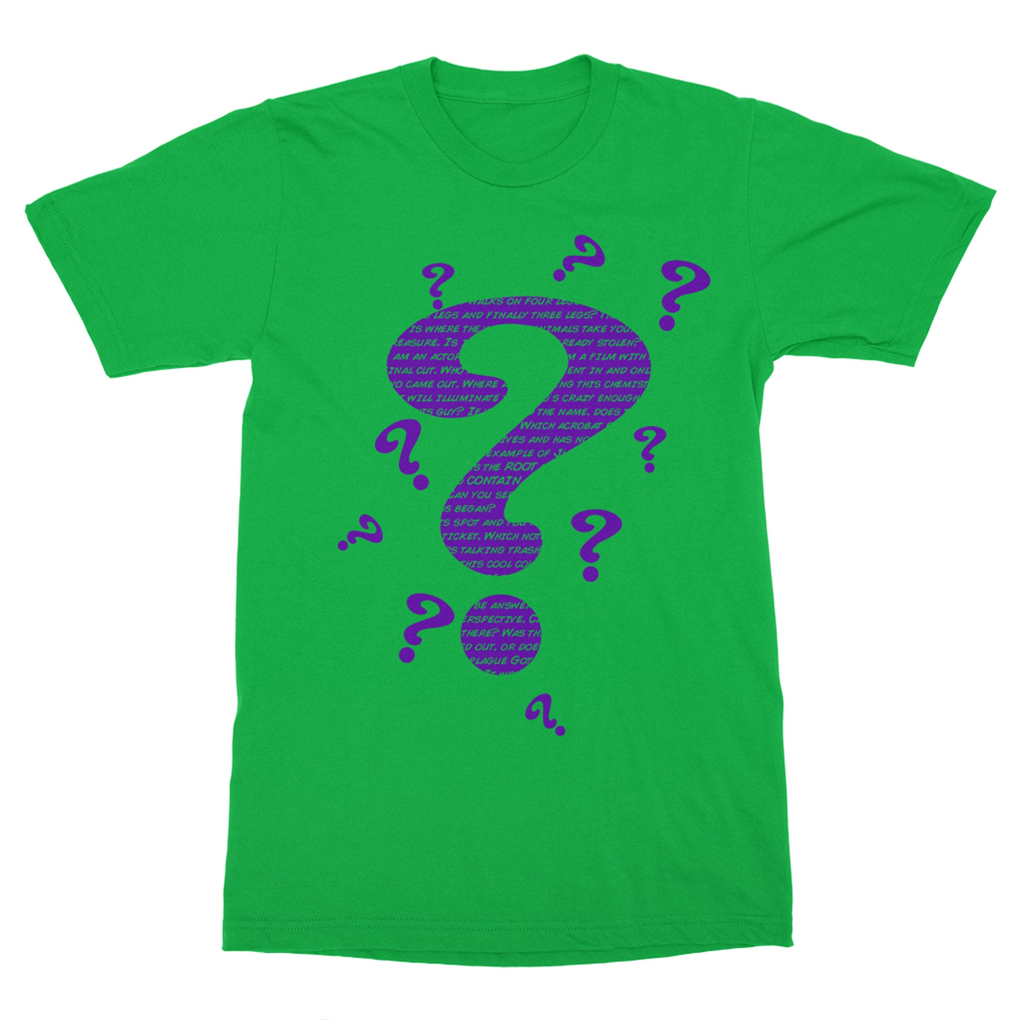 Mind Bender Shirt-T-Shirts-Shirtasaurus-Premium-XS-Heather Kelly Green-Shirtasaurus
