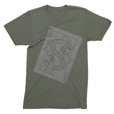 Serpant King Shirt-T-Shirts-Shirtasaurus-Basic-S-Military Green-Shirtasaurus