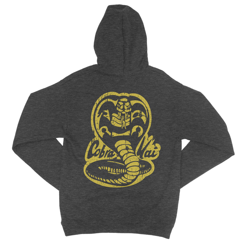 Strike First Cobra Kia Hoodie-Hoodies-Shirtasaurus-S-Dark Heather-Shirtasaurus