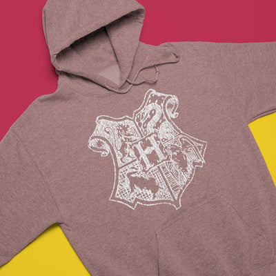 School Of Magic Vintage Pullover Hoodie-Hoodies-Shirtasaurus-Shirtasaurus