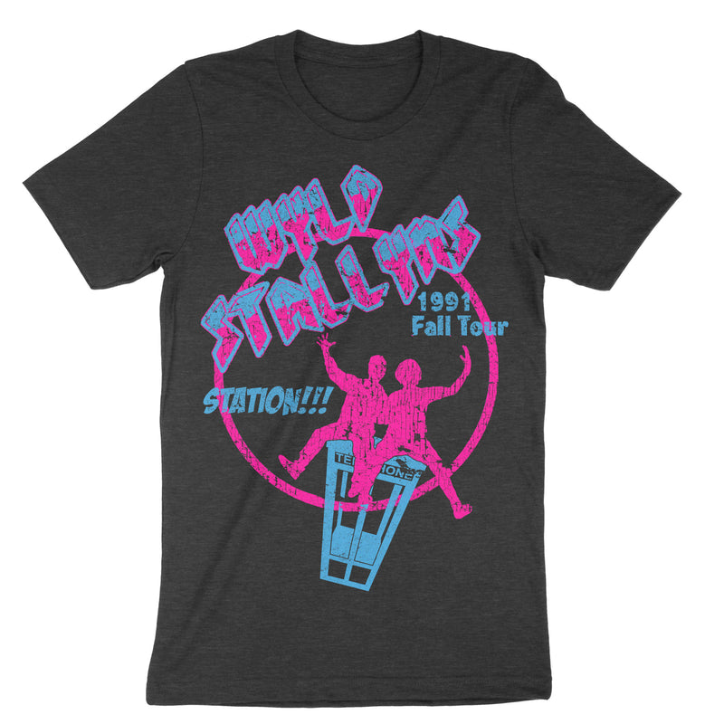 Wyld Stallyns Shirt-T-Shirts-Shirtasaurus-Basic-S-Heather Black-Shirtasaurus