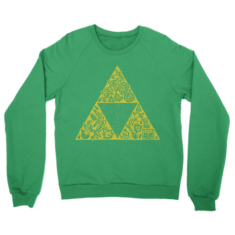 Hyrule Collector Crewneck Sweatshirt-Shirtasaurus