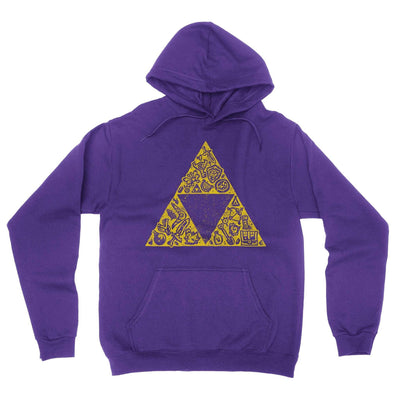 Hyrule Collector Hoodie-Hoodies-Shirtasaurus-S-Purple-Shirtasaurus