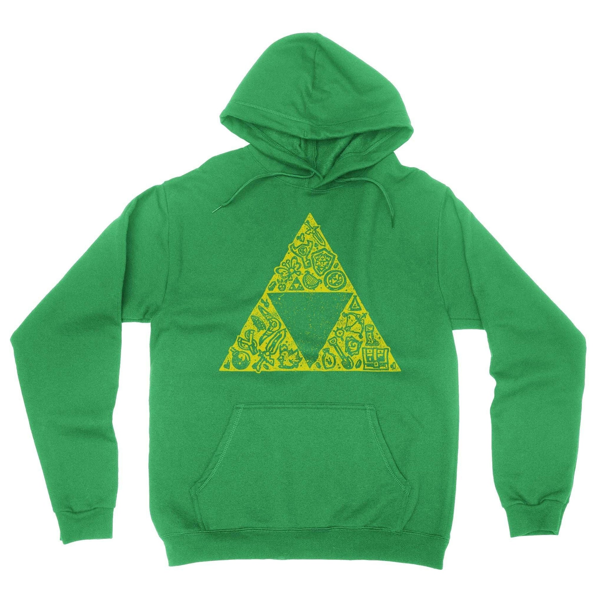 Hyrule Collector Hoodie-Hoodies-Shirtasaurus-S-Green-Shirtasaurus