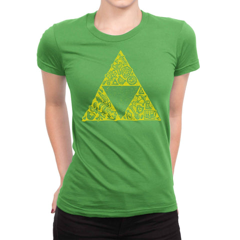 Hyrule Collector Women's Shirt-Shirtasaurus