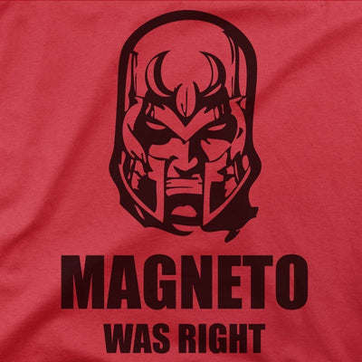 Magneto Was Right Shirt-T-Shirts-Shirtasaurus-Shirtasaurus