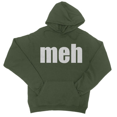 Meh Hoodie-Hoodies-Shirtasaurus-S-Military Green-Shirtasaurus