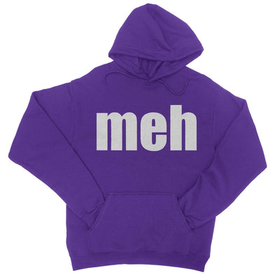 Meh Hoodie-Hoodies-Shirtasaurus-S-Purple-Shirtasaurus