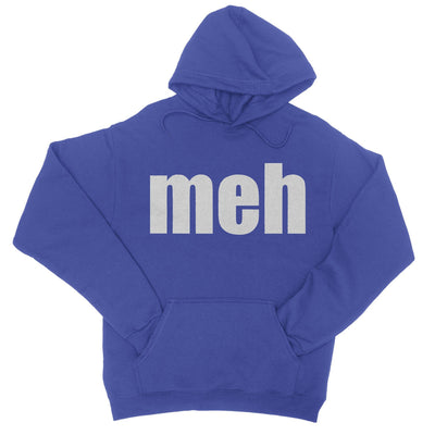 Meh Hoodie-Hoodies-Shirtasaurus-S-Royal-Shirtasaurus