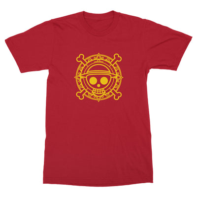 The King of the Pirates Shirt-T-Shirts-Shirtasaurus-Basic-S-Red-Shirtasaurus