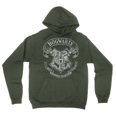 School Of Magic Hoodie-Hoodies-Shirtasaurus-S-Military Green-Shirtasaurus