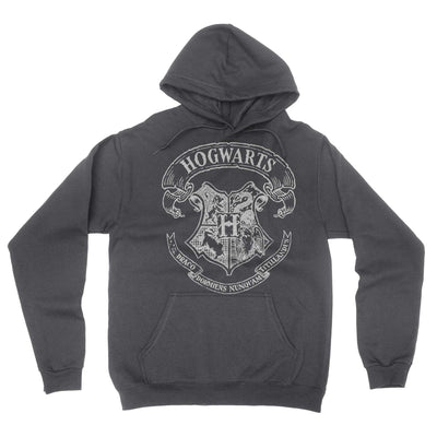 School Of Magic Hoodie-Hoodies-Shirtasaurus-S-Gray-Shirtasaurus