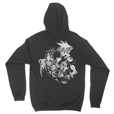 Sons of Shinra Premium Zip Hoodie-Zip-Hoodies-Shirtasaurus-Shirtasaurus
