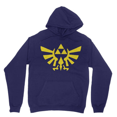 Triforce Hoodie-Hoodies-Shirtasaurus-Navy-S-Shirtasaurus