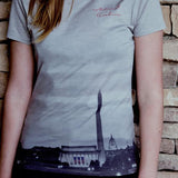 D.C. Night Scene Ladies T-Shirt