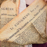 Declaration of Independence Silk Scarf