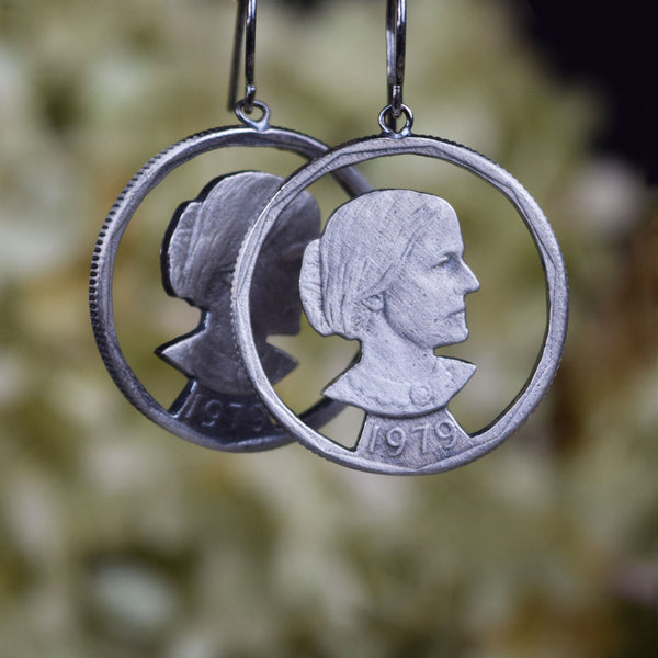 Susan B. Anthony Drop Earrings