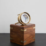 Magnifier: Three-Legged with Wooden Box