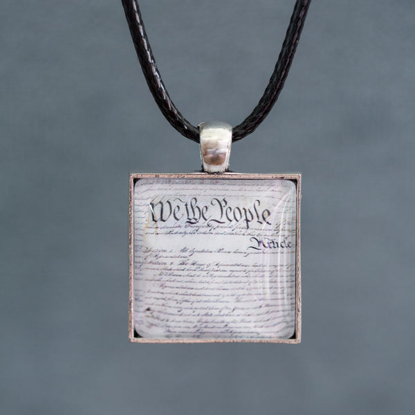 Constitution Square Necklace