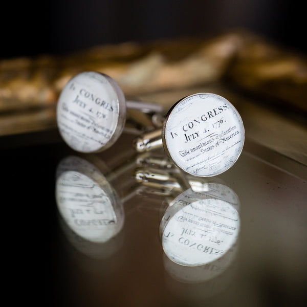 Declaration of Independence Cuff Links