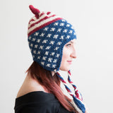 American Flag Aviator Hat with Earflaps