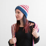 U.S.A. Ribbed Band Hat