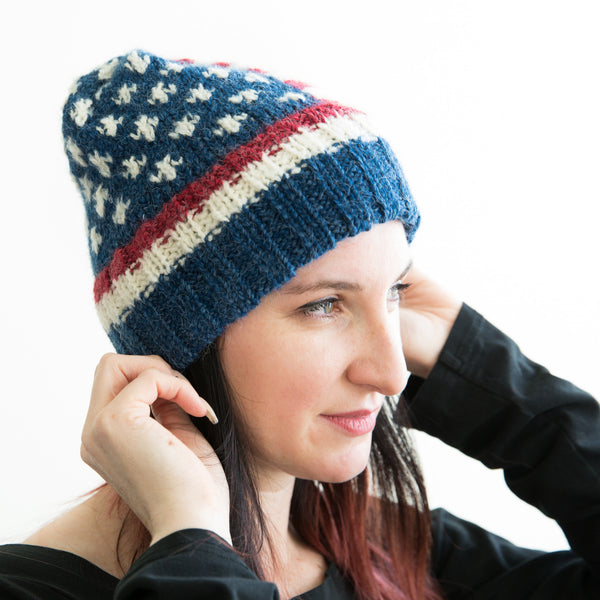 USA Ribbed Band Hat