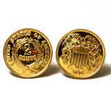 2 Cents Cuff Links
