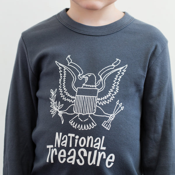 National Treasure Long Sleeved T-Shirt