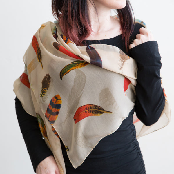 Falling Feathers Scarf