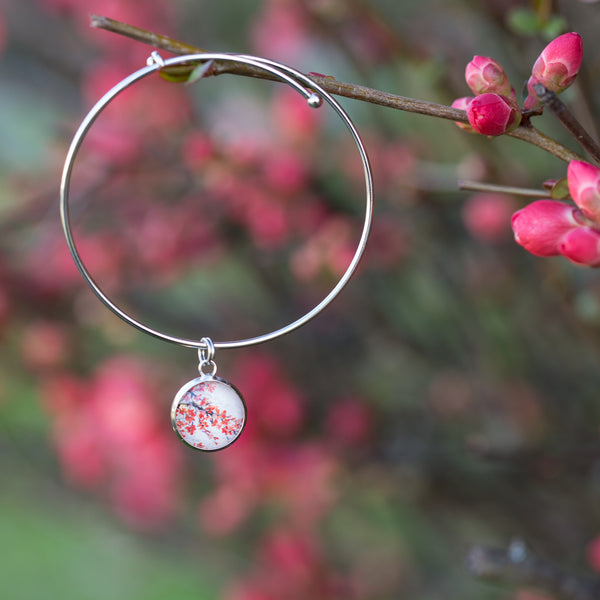 Cherry Blossom Adjustable Bracelet