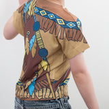 American Indian Boy Toddler T-Shirt