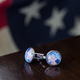 The Avenue in the Rain Cuff Links
