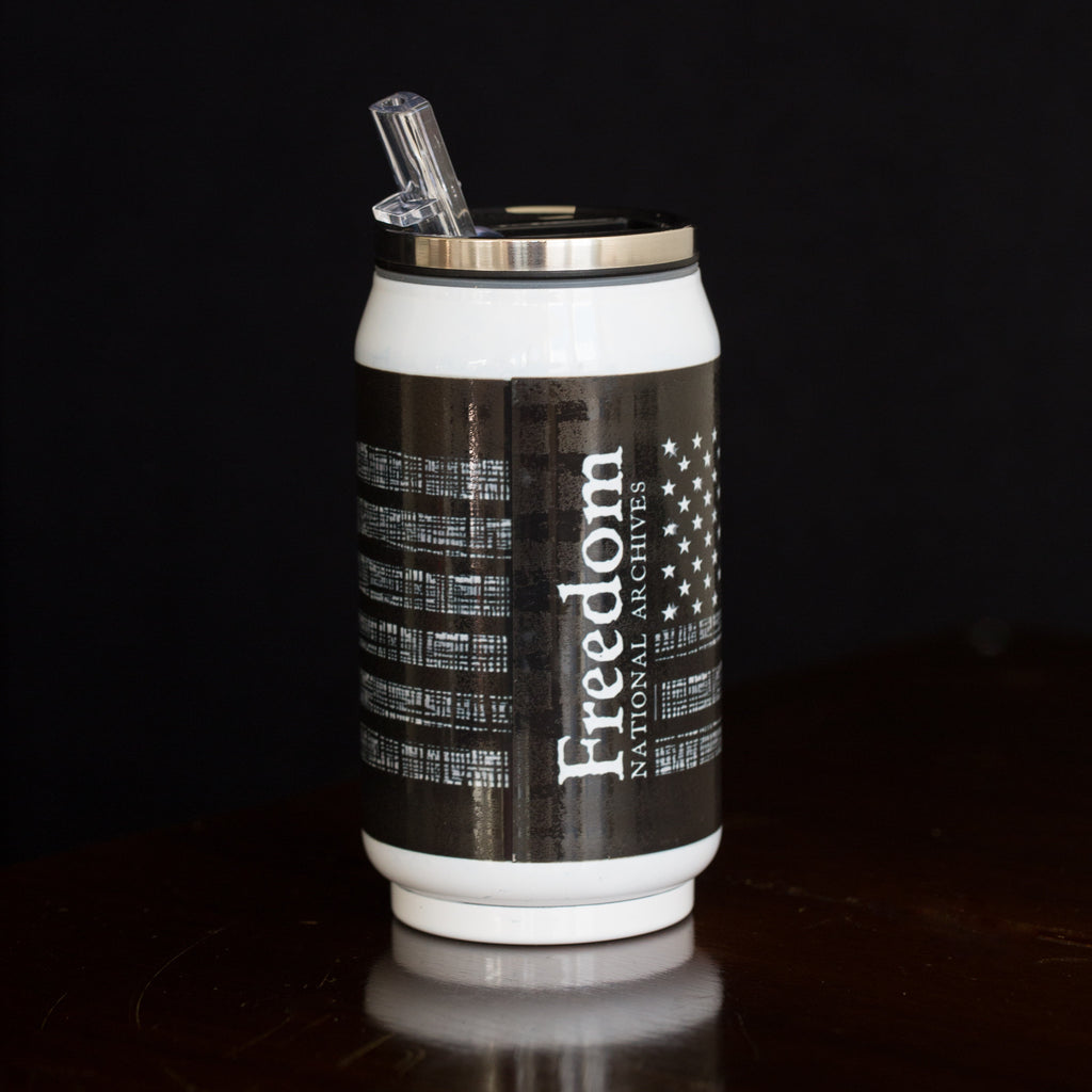 Interwoven Glory Can Travel Mug