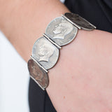 JFK Hinged Bracelet