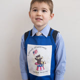 Teddy in Hat Kids Apron