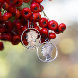 Circled Mercury Dime Hoops