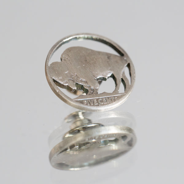 Buffalo Nickel Lapel Pin